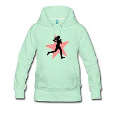 Sudadera mujer ideal para las que les gusta el running. Puedes elegir el color que mas te guste.   #mycshop #spreadshirt #running #deporte #correr #runner #runnergirl #ropadeporte #sudaderachica #fashiongirl #sport