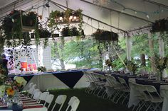 This client grew their own flowers and beautifully hung them throughout their tent. Our frame tents are perfect for hanging your decor. Tents, Be Perfect, Table Decorations, Frame, Flowers, Wedding, Furniture, Home Decor, Teepees