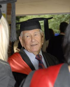 A 97 year old, #Grandfather has become 'world's oldest graduate' #graduation #elderlylove