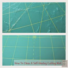 How To Clean And Care For A Self-Healing Cutting Mat by www.madebyChrissieD.com