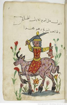 Astrology Manuscript (Aries), Gallica, BnF
