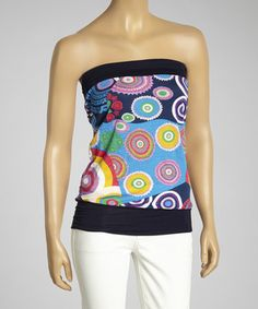 This Blue Tube Top by Luna Claire is perfect! #zulilyfinds