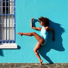 """Regram @alvinailey /  """" Amazing photo by:  Andrew @Eccles :  #storytime  """" Bo-Kaap lies on the slopes of Signal Hill and is a sweet little neighborhood in Cape Town known for it's brightly colored homes and cobblestone streets. Although we were properly permitted by the city to shoot there within minutes of getting started a local resident became incensed by what we were doing and told us we couldn't continue. We explained that we had gone through the proper channels but he balked and went…"""