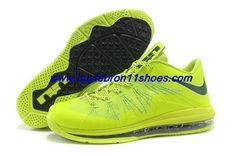 c3b0b1f56697 Latest Listing Cheap Lightgreen Black Nike Air Max Lebron 10 Low Shoes  Store Sport Nike
