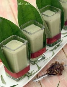 Here's a recipe that combines the dessert and after-meal paan into one exciting glassful! The Paan Shot is a mouth-watering combination of paan and rose gulkhand with spices and ice-cream, which melts in your mouth and tickles your taste buds. Every sip of this aromatic drink will send a lovely tingle down your spine.