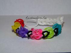 Tulip Rainbow Loom Bracelet
