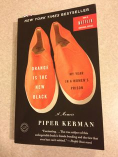 Piper Kerman- Fascinating look into women's federal prison- really interesting true story but also a good read. Her attitude and lessons learned are inspiring and thoughtful. I look at prison & prisoners completely differently now!