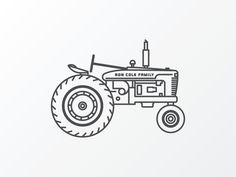 Tractor Old by Brian K Gray
