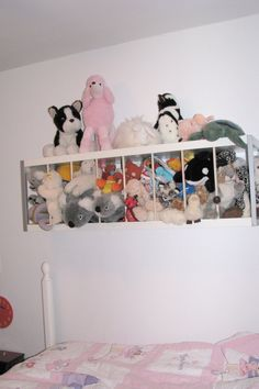 IKEA Hackers: Stuffed Animal Zoo  Like That This One Doesnu0027t Take Floor  Space!