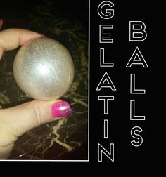 How to make Gelatin Balls/Bubbles - YouTube