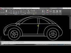 COMO HACER UNA CASA EN 3D EN AUTOCAD - YouTube