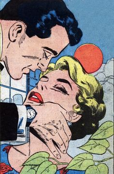 """From the story """"I Loved a Scoundrel"""" My Own Romance #74 March 1960 (artist unknown)"""