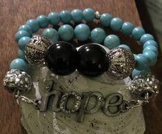 HOPE... Beaded Bracelets, Jewelry, Style, Fashion, Swag, Moda, Jewlery, Jewerly, Fashion Styles