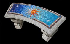 Sun & Moon Bench by Sandra Groeneveld-Kalideco