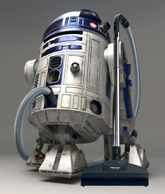 Star Wars R2-D2 Robot Vacuum Cleaner - this would be awesome!