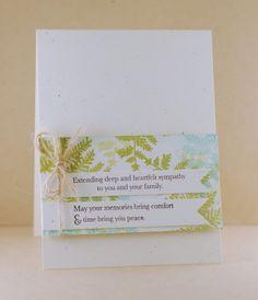 Sympathy Card by Lynn Mangan