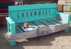 repurpose chair bench | Earth Day Special: Beautiful Repurposed Design