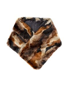 Pin for Later: A Faux Fur Scarf Is Your Fast Track to Cosy Chic This Season  Accessorize Marbled Fur Stole (£35)