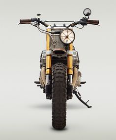 walking dead custom motorcycle by classified moto