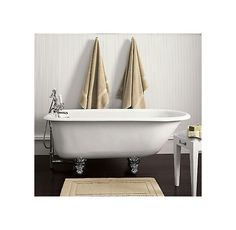 Classic Victorian Clawfoot Tub and Tub Fill with Handheld Shower (shown)   Tubs   Restoration Hardware