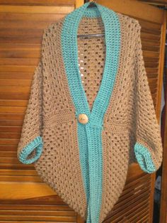 1000+ images about Granny Square Cocoon Shrug on Pinterest ...