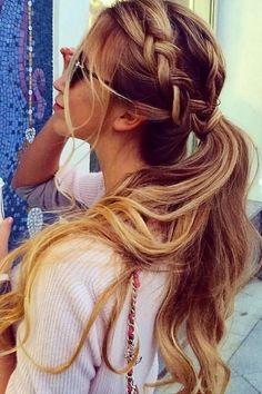 150 peinados sencillos pero elegantes - 150 peinados sencillos para chicas con poco tiempo - enfemenino.com