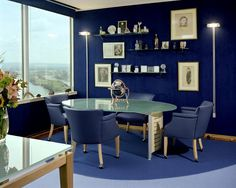 tone blue 10 Ways to Change your Space with Tone on Tone Color