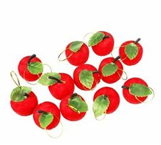 12 Pcs in One Pack Red Apple Ornaments Christmas Tree Decoration By U-beauty U-Beauty http://www.amazon.com/dp/B00ML3MDDG/ref=cm_sw_r_pi_dp_u.HEub19NEBW3