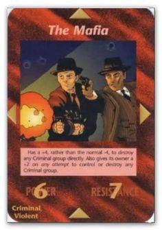 Illuminati Card The Mafia