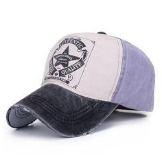 d1270a3c6 Star Patchwork Baseball Cap Men or Women Outdoor Sport Polo Hats