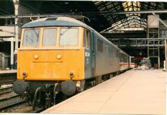 86241 (ex 'Glenfiddich' at Liverpool Street Station on July 1985 . Built at Doncaster Works and delivered on Sept Named 'Glenfiddich' on March Withdrawn on Jan 2003 and cut up by Sandbach Dismantlers at Crewe Electric depot on Feb Electric Locomotive, Diesel Locomotive, Steam Locomotive, Manchester Buses, Liverpool Street, Electric Train, British Rail, Civil Engineering, Great Britain