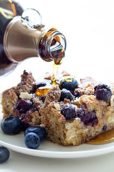 Blueberry+Lemon+French+Toast+Casserole