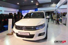 En esta edición de #elsalóndelautomóvil , #Volkswagen nos presenta su #Tiguan R-line