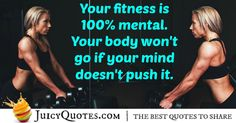 Here are motivational fitness quotes and sayings. These picture quotes will inspire you to workout more and get in shape. - Page 3 Fitness Motivation Quotes, You Fitness, Get In Shape, Picture Quotes, Best Quotes, Mindfulness, Workout, Sayings, Getting Fit