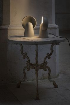 LED cement Floor lamp ROMEO by Karman