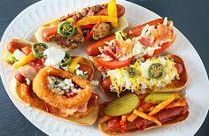 Gourmet Hot Dog Fixins http://www.allcreated.com/gourmet-hot-dogs/?utm_content=buffer83dab&utm_medium=pnpage&utm_source=pinterest&utm_campaign=acupdate