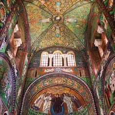 Breathtaking mosaic church in #Ravenna, simply the most amazing church I have ever been! - Instagram by @shanluphoto
