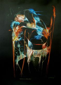 art projects on black paper -    amazing