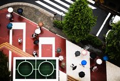 Amazing Aerial Photographs Of New York City's Street Intersections