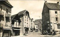 Le village de la Tour d'Auvergne au siècle dernier