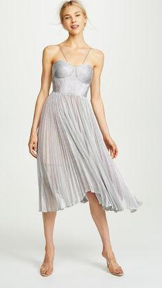Amazing offer on Maria Lucia Hohan Zaria Dress online - Proalloffer Grad Dresses, Dress Outfits, Casual Dresses, Short Dresses, Named Clothing, Red Carpet Fashion, Chic, Pleated Skirt, Dresses Online