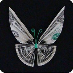 make this in paper and make a butterfly tree and exchange for money for honeymoon fund