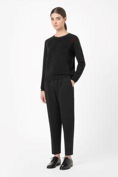COS   Ribbed knit jumper