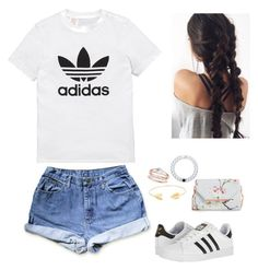 1st outfit:)))🌸 by bri4432 on Polyvore featuring polyvore, fashion, style, adidas Originals, adidas, Ted Baker, Lokai, Lord & Taylor and clothing