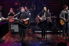 Of Monsters & Men on Jimmy Fallon...they were SOOO good