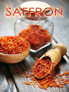 Saffron contains several plant-derived chemical compounds that are known to have been antioxidant, disease preventing, and health promoting properties...