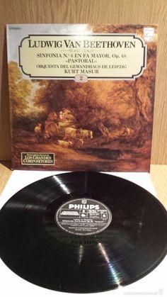 L.V.BEETHOVEN. GRANDES COMPOSITORES Nº 2. LP / PHILIPS ***/***