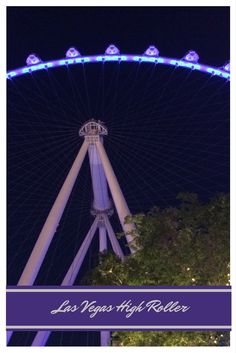 Ferris Wheel or Giant Observation Wheel. There is technically a difference, do you know the difference? There are 4 Giant Observation wheels world wide.