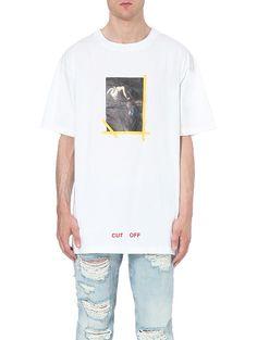 d5eb473b635c OFF-WHITE C O VIRGIL ABLOH Annunciazione cotton t-shirt White C