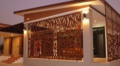 Screen Art Privacy Screens - residential exterior privacy screens and panels. http://www.screenart.net.au